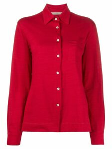 Holland & Holland chest pocket shirt - Red