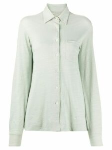 Holland & Holland chest pocket shirt - Green