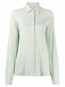Holland & Holland chest pocket shirt - Green