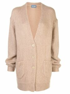 Lhd Sycamore Canon knitted cardigan - NEUTRALS
