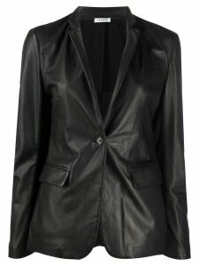 P.A.R.O.S.H. fitted leather jacket - Black
