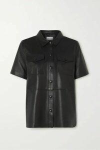 Stand Studio - Danna Leather Shirt - Black