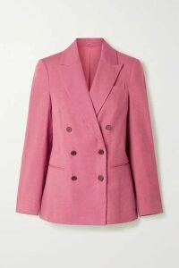 Brunello Cucinelli - Linen-blend Blazer - Pink
