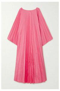 Roksanda - Oleria Pleated Taffeta Gown - Pink
