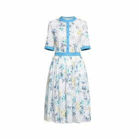 West 14th - The New Yorker Motor Jacket Steel Blue Leather