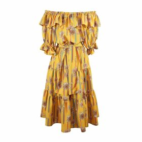 Berta Cabestany - Calabaza Embroidered Orange Sweat
