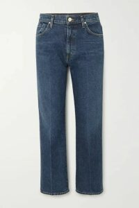 GOLDSIGN - + Net Sustain The Cropped A High-rise Straight-leg Jeans - Mid denim