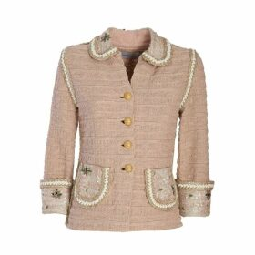 The Extreme Collection - Baby Pink Classic Jacket Coral