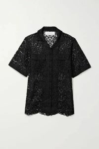 Marques' Almeida - Corded Lace Shirt - Black