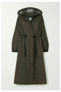 Moncler - Hooded Shell Raincoat - Green
