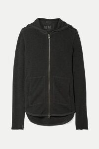 ATM Anthony Thomas Melillo - French Cotton-blend Terry Hoodie - Anthracite