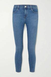 J Brand - Alana High-rise Skinny Jeans - Mid denim