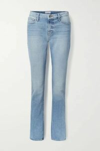 FRAME - Le Mini Boot Mid-rise Jeans - Light denim
