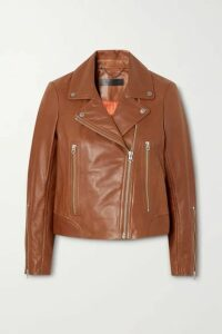 rag & bone - Mack Leather Biker Jacket - Tan