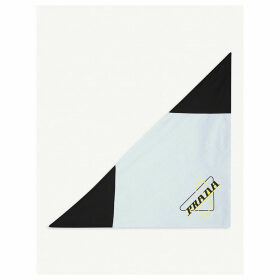 Oxford logo-print cotton neckerchief