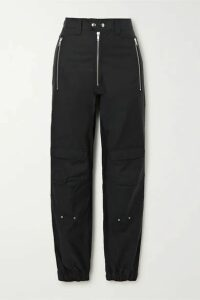 GmbH - + Net Sustain Yolanda Organic Cotton-blend Straight-leg Pants - Black