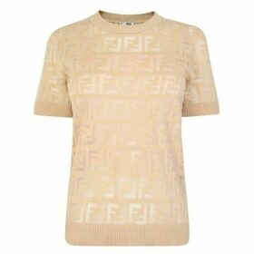 Fendi Knitted Cotton Jumper