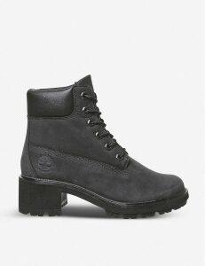 Kinsley nubuck block heel boots