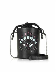 Kenzo Designer Handbags, Kontact Eye Mini Bucket Bag
