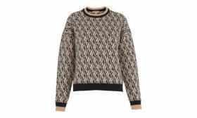 Britt Diamond Jacquard Sweater