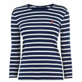 Polo Ralph Lauren Polo Stripe  three quarter Knit Ld01