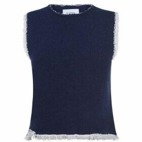 Barrie Barrie Knit Vest Ld01