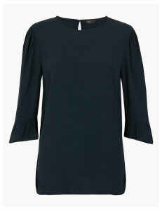 M&S Collection Woven 3/4 Sleeve Blouse