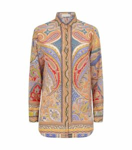 Silk Paisley Printed Shirt