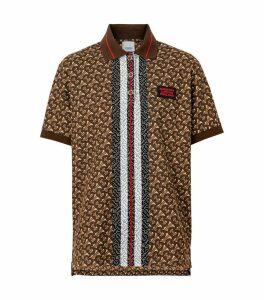 TB Monogram Polo Shirt
