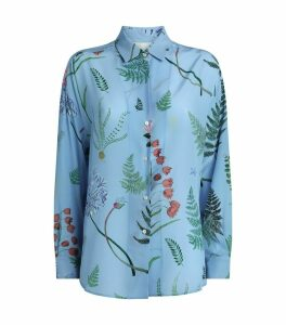 Silk Venas Floral Shirt