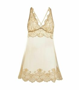 Lace Embroidered Chemise