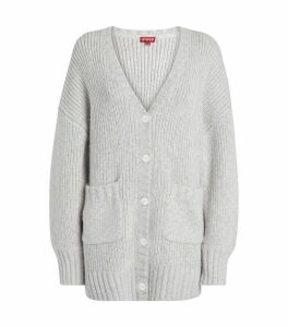 Cotton-Blend Cardigan