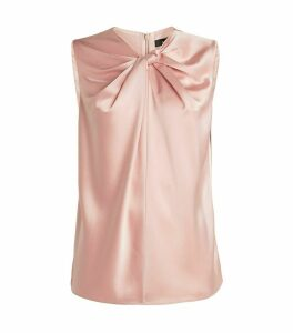 Satin Drape Top