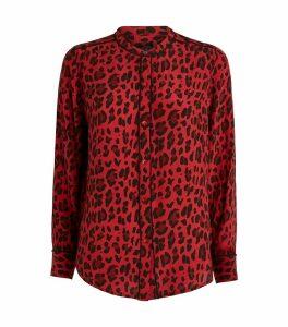 Lillian Leopard Print Shirt