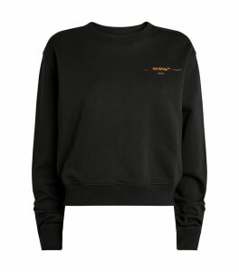 Embroidered Corals Sweatshirt