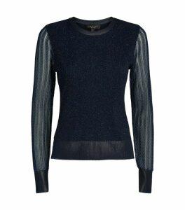 Rower Glitter Knit Sweater