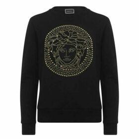 Versace Studded Logo Sweatshirt