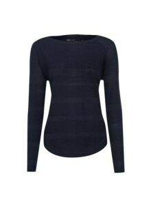 Womens Only Navy Knitted Jumper - Blue, Blue