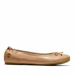 Timberland Millbury Ballerina Shoe For Women In Brown Brown, Size 9