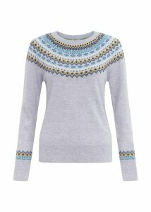 Greta Sweater Grey Multi