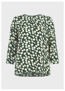 Alex Blouse Green Stone