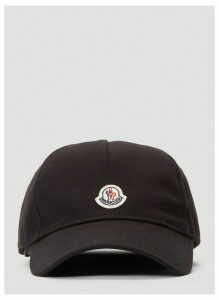 Moncler Logo Baseball Cap in Black size One Size