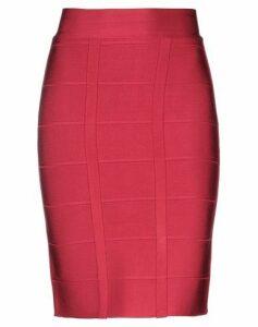 HERVÉ LÉGER SKIRTS Knee length skirts Women on YOOX.COM