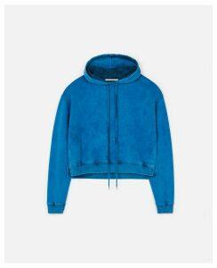 Stella McCartney Blue Logo Sweatshirt, Women's, Size 16