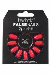 Technic Coral Gloss False Nails