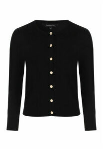 Womens Black Cardigan