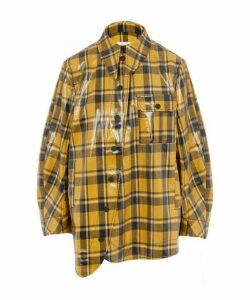 Coated Check Twill Shirt