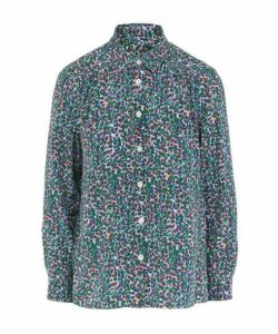 Sutton Floral Silk Shirt