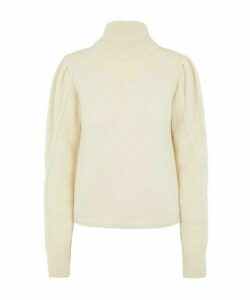 Soft Alpaca Turtleneck Knit