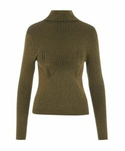 Mida High-Neck Knit Top